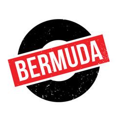 Bermuda rubber stamp vector