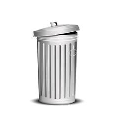 Garbage box vector image