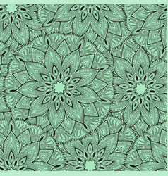 Seamless mandala pattern for printing on fabric or vector