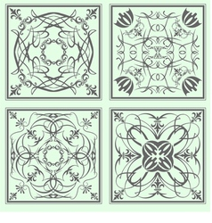 al 0721 tiles 02 vector image