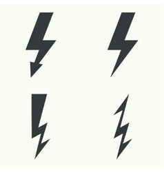 Abstract background with electric lightning vector