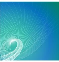 Blue contemporary background vector