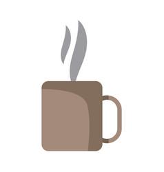 Coffee cup mug hot aroma liquid fresh vector