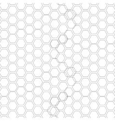 Hexagonal seamless pattern Repeating geometric vector image