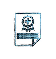 Medical report document vector