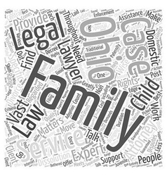 Ohio family attorney services talk to the experts vector