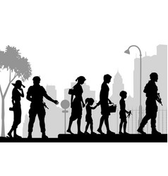 street security vector image