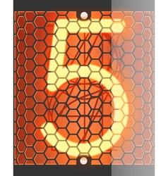 Radio tube 5 vector image