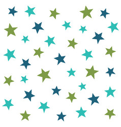 Abstract stars seamless pattern vector