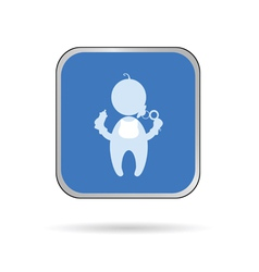 Baby color vector