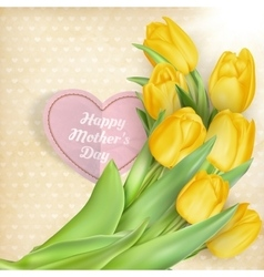 Happy mothers day lettering eps 10 vector