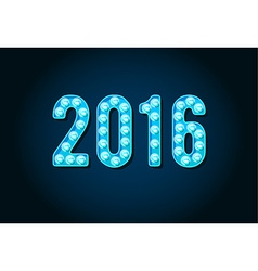 2016 neon casino or broadway signs style light vector