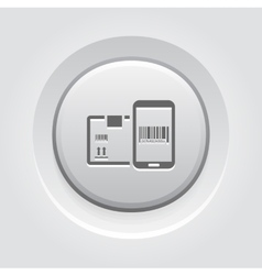 Mobile Tracking Services Icon vector image