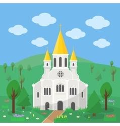 Catholic church vector