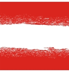 Flag of austria grunge austrian pattern vector