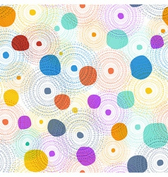 Seamless colourful pattern vector