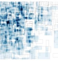 Bright blue grunge geometric backround vector