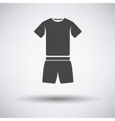 Fitness uniform icon vector image