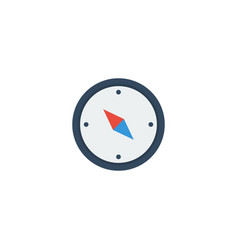 flat icon compass element of vector image