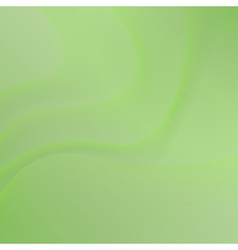 green background with waves vector image vector image