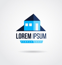 house logo design vector image