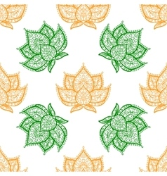 Lotus adctract background vector