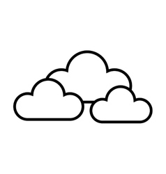 Cloud rain cloudy vector