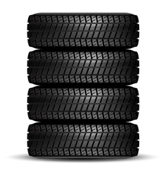 Tire black best vector