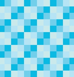 Popular blue sky sea color tone checker chess vector