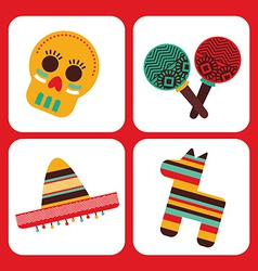 Mexican culture vector