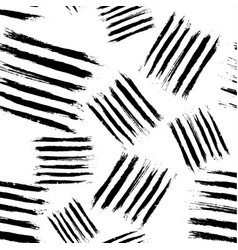 Monochrome abstract trace blocks seamless pattern vector