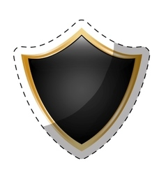 Shield security icon image vector