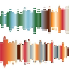 Abstract colorful gradient indicator set abstrsct vector