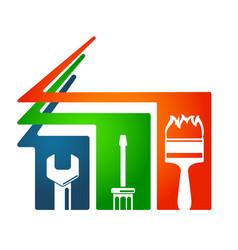 home repairs tool symbol vector image