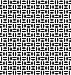Monochrome ellipse repeat pattern vector