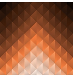 Geometric brown background vector