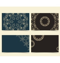Cards Designs vector image vector image