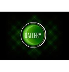 Gallery Button vector image