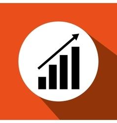 growth icon design vector image