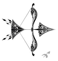Zodiac signs - sagittarius vector