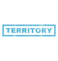 Territory rubber stamp vector