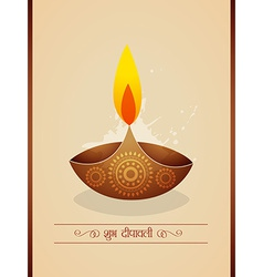 Diwali background design vector