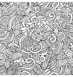 Cartoon hand-drawn doodles on the subject of vector image