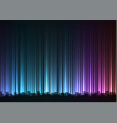 dark rainbow abstract bar line background vector image vector image