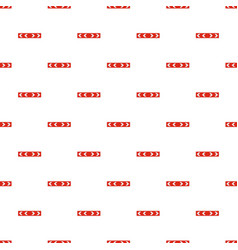 Detour of obstacle on the left pattern seamless vector