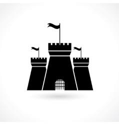 Icon of prison vector