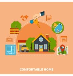 Real estate concept vector