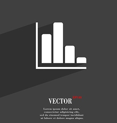Infographic symbol flat modern web design with vector