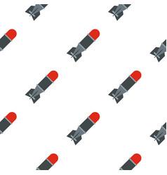Bomb pattern flat vector