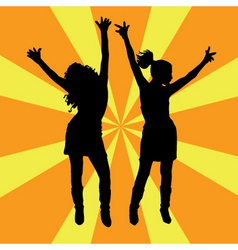 everybody dance vector image vector image